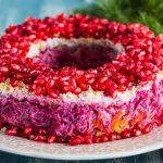 Рецепт «Гранатовый браслет» (салат классический)