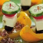 Рецепт Необычайно красивый греческий салат в домашних условиях