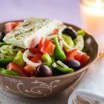 Рецепт Греческий салат с фетаксой