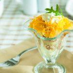 Рецепт Салат Мимоза с сардиной и плавленным сыром