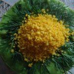 Рецепт Салат «Кукурузная Мимоза» пошагово