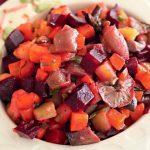 Рецепт Вегетарианский винегрет с маслом