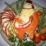 Рецепт Новогодний салат огненный петух