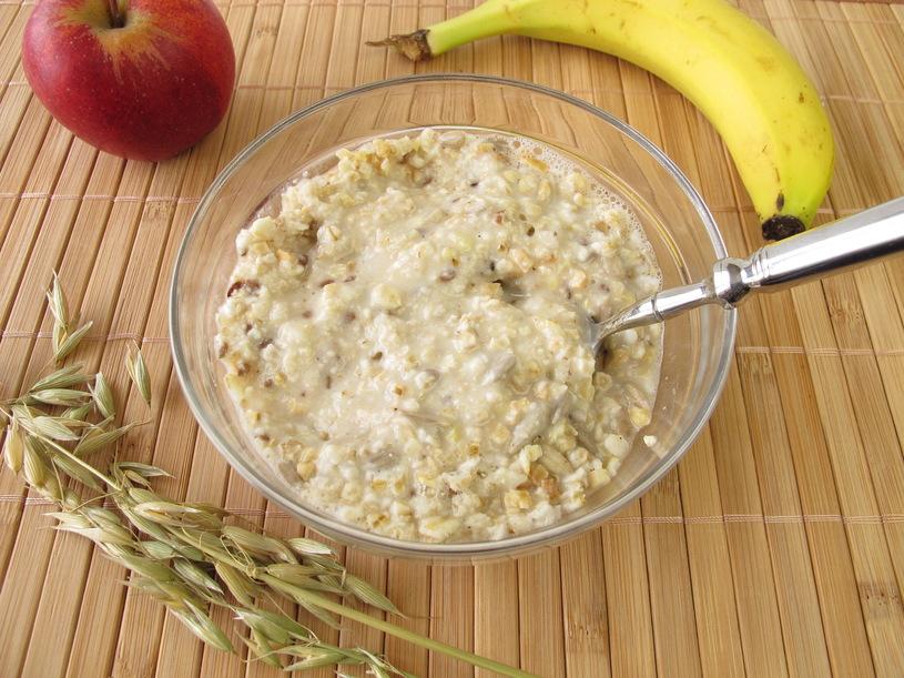 Гречневая сыроедческая каша на завтрак ~ Домашние рецепты