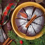 Рецепт Итальянский рождественский пирог с шоколадом