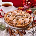 Рецепт Рождественский яблочный пирог