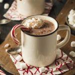 Горячий шоколад с чаем