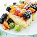 Рецепт Простой кокосовый пирог без масла и яиц
