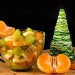 Рецепт Зимний фруктовый салат