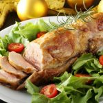 Рецепт Запеченная свиная вырезка с горчицей и медом