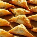 Рецепт Пирожки на сметане с плавленым сыром