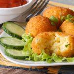 Рецепт Картофельные шарики во фритюре