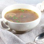 Рецепт Грибной суп от Юлии Высоцкой