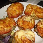Рецепт Стожки из фарша под шубой с помидорами