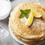 Рецепт Лимонные блины на кефире