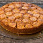 Рецепт Перевернутый пирог с бананами