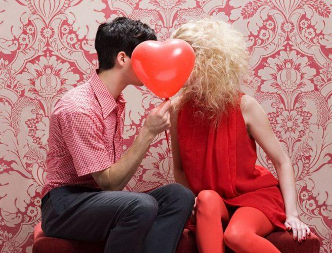 На фото День святого Валентина (День всех влюбленных)