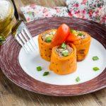 Рецепт Томатные блинчики с начинкой