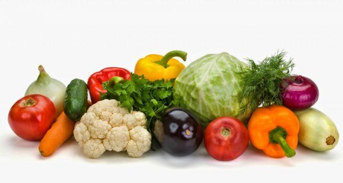 На фото Варка овощей в воде и на пару (сводная таблица)