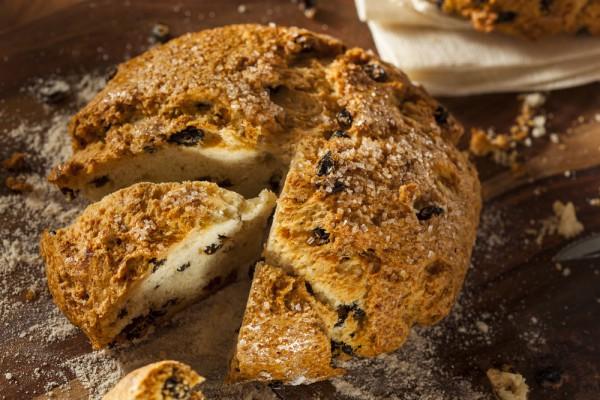 На фото Ирландский содовый хлеб