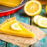 Рецепт Простой лимонный тарт